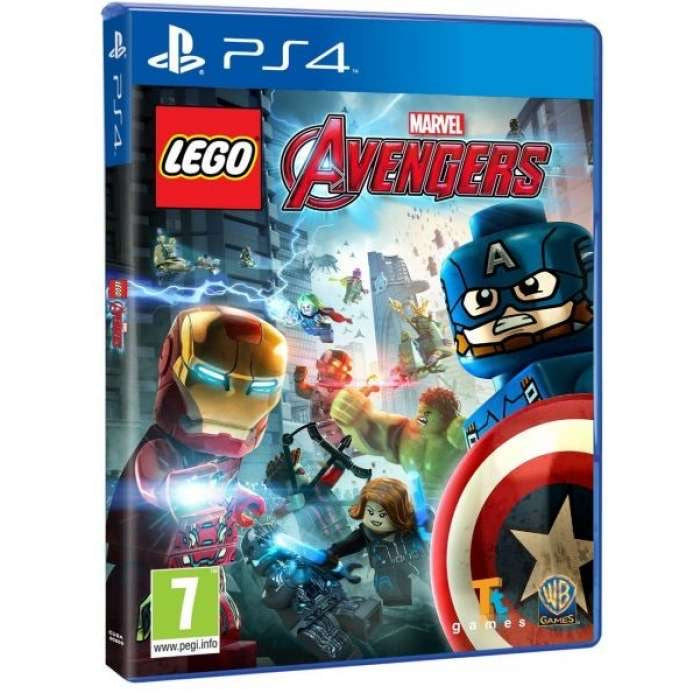 [PS4] Lego Marvel Avengers R2