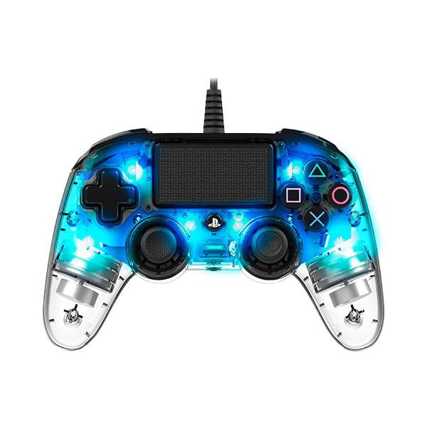 Nacon Wired Compact  Controller Crystal Blue
