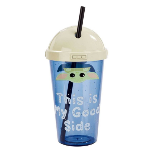 Star Wars The Mandalorian The Child Cup With Straw - 420 ml