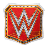 WWE RAW Woman's Championship Title Throw Pillow