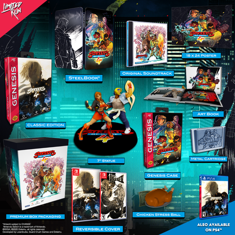 [NS] Streets Of Rage 4 Collector's Edition R1