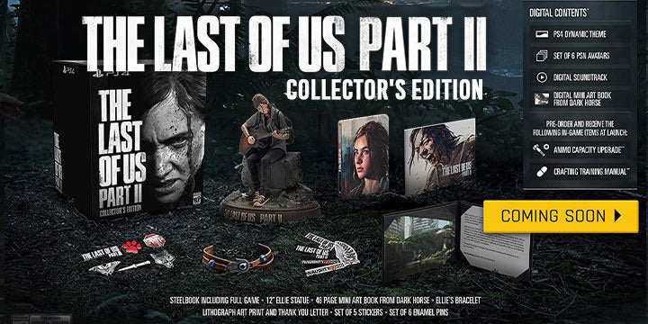 PS4 The Last Of Us Part II Collector's Edition (Japan Version)
