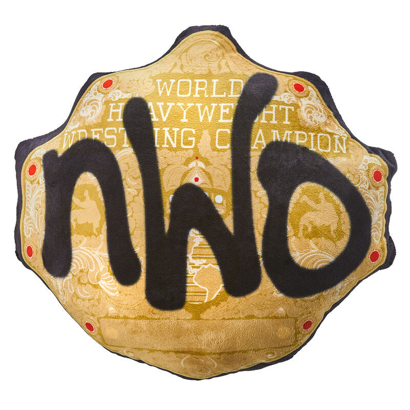 WWE NWO WCW Championship Title Throw Pillow
