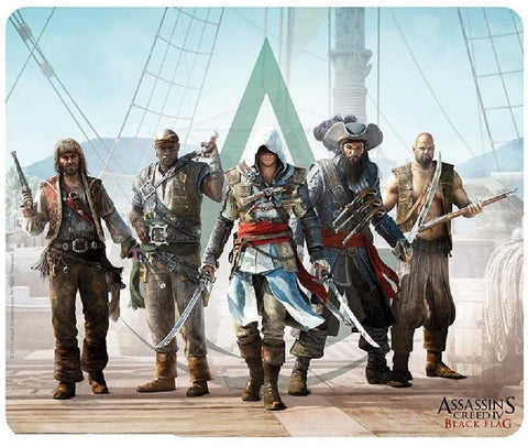 Assassin's Creed Black Flag Mousepad 20x24 cm