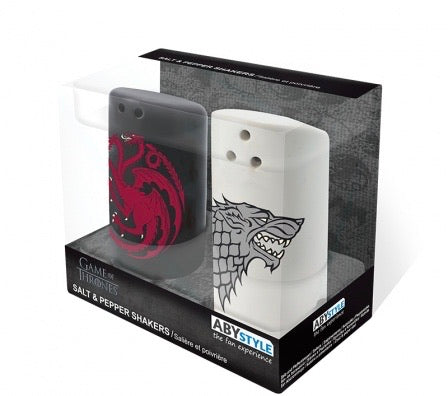 Game Of Thrones Salt & Pepper Shakers