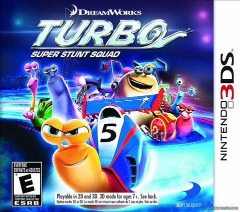 [3DS] Turbo Super Stunt Squad R1