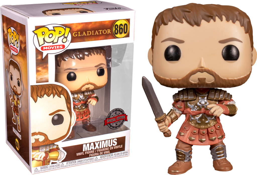 Funko Pop Cladiator Maximus (Limited Edition)