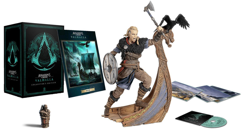 [PS4] Assassin's Creed Valhalla Collector's Edition (No Game)