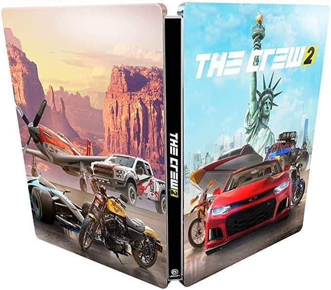 [PS4] The Crew 2 SteelBook (No Game)