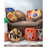 WWE Championship Tittle Throw Pillow