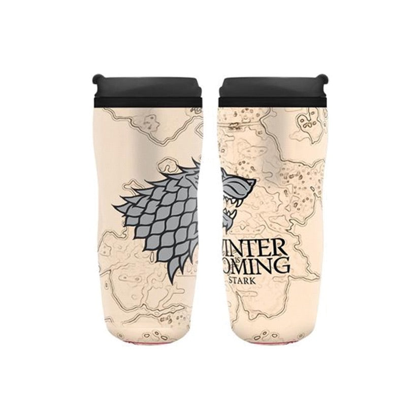 Game Of Thrones Travel Mug (Winter is Coming) - 355 ml