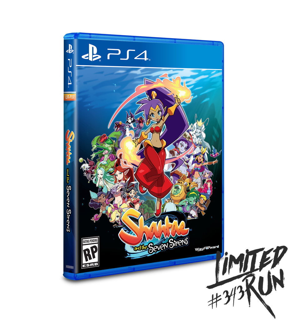 [PS4] Shantae & The Seven Sirens R1