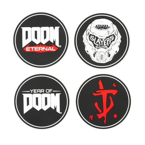 Official DOOM Coaster Pack