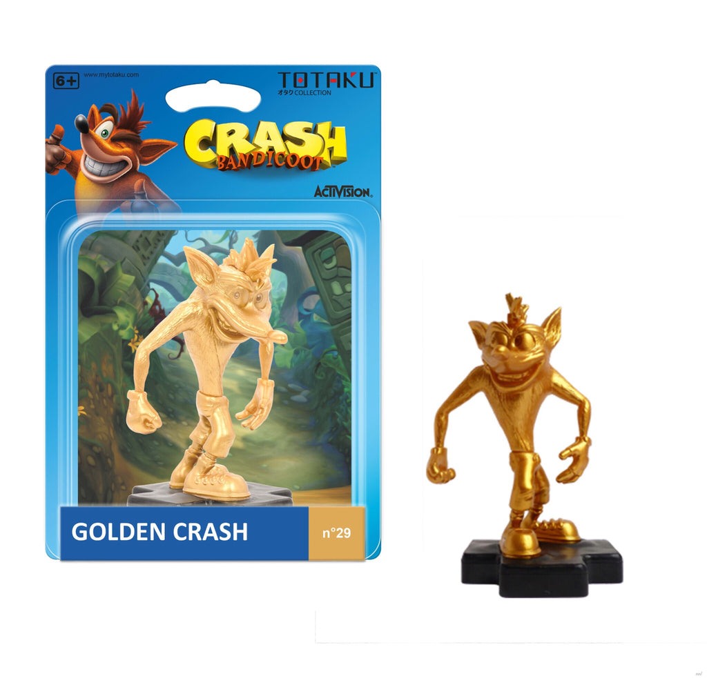 Totaku Crash Bandicoot Gold