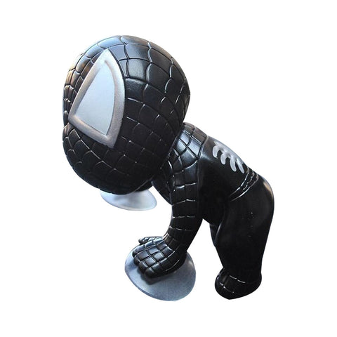 Spiderman Toy Climbing Window (Black Color)