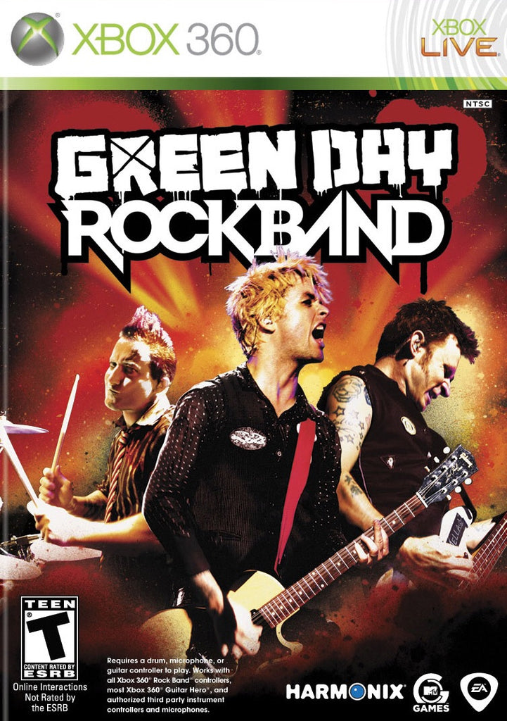 [Xbox 360] Greenday Rock Band R1