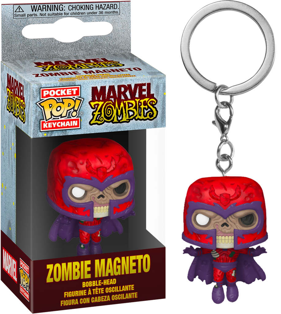 Pop Keychain Marvel Zombies Zombie Magneto