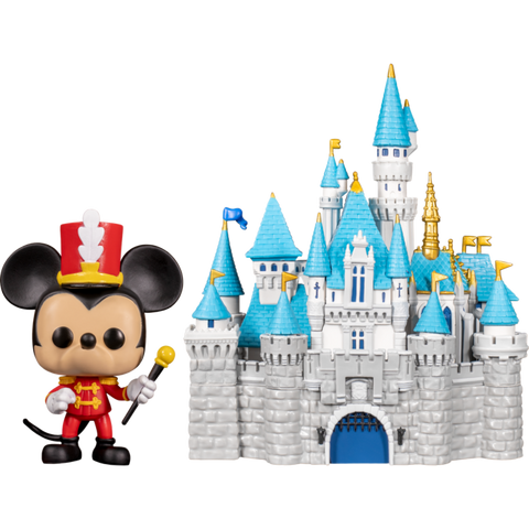 Funko Pop Disney Sleeping Beauty Castle & Mickey Mouse