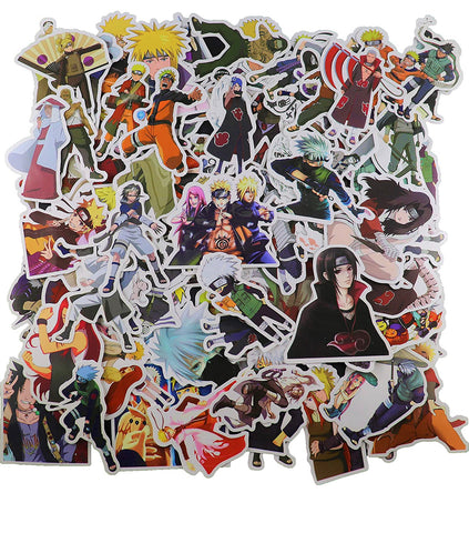 100 Pieces Naruto Stickers