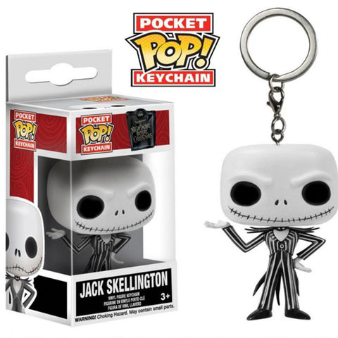 Pop Keychain Disney Jack Skellington