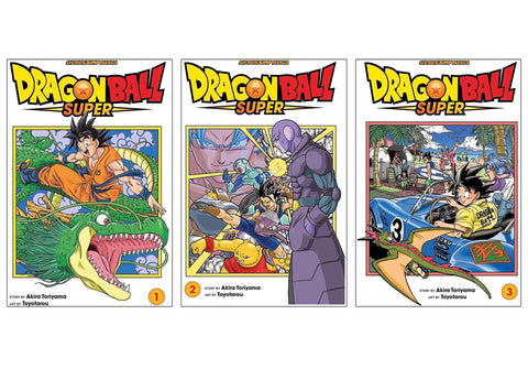 Dragonball Super Manga (1,2,3)