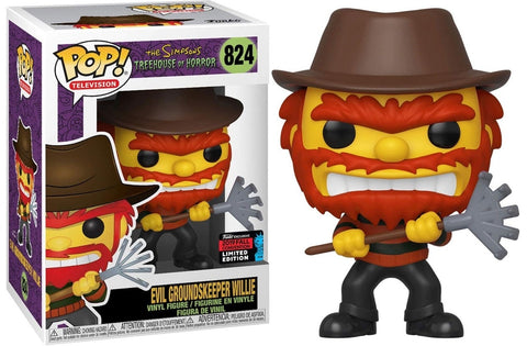 Funko Pop The Simpsons Evil Groundskeeper Willie (Limited Edition 2019)