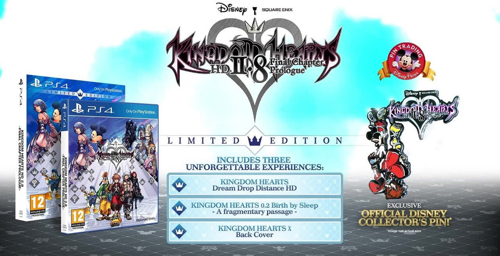 [PS4] Kingdom Hearts HD 2.8 Final Chapter Prologue Limited Edition R2