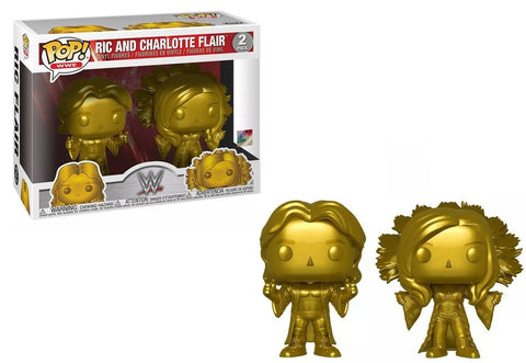 Funko Pop WWE Rick & Charlotte Flair (Exclusive)