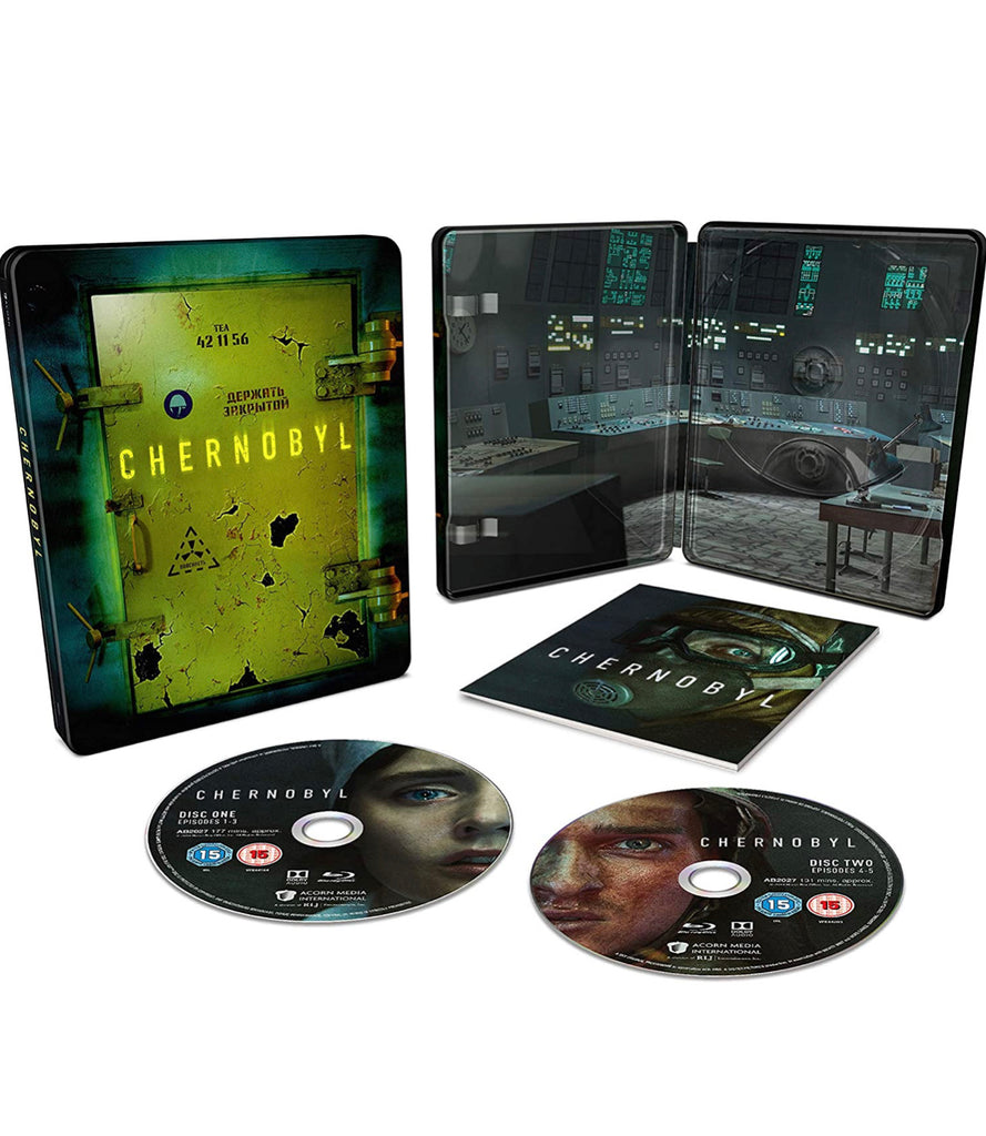 Chernobyl Steelbook Blue Ray