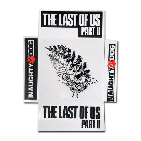 5 Pieces The Last Of Us 2 Stickers