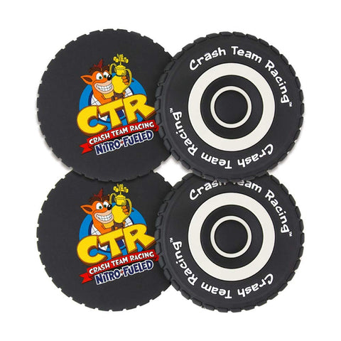 Official Crash Bandicoot Coasters Pack