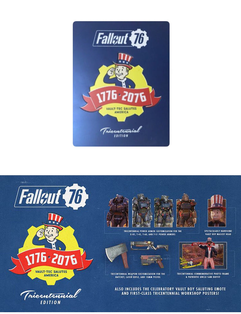 Fallout 76 Tricentennial Edition Steelbook with PC Game