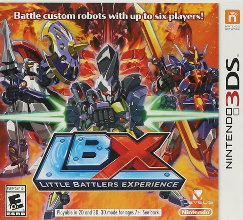 [3DS] Little Battlers Experience R1