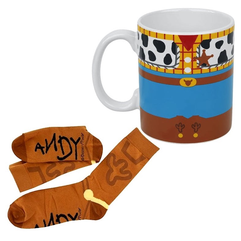 Disney Toy Story Woody Mug & Socks Set