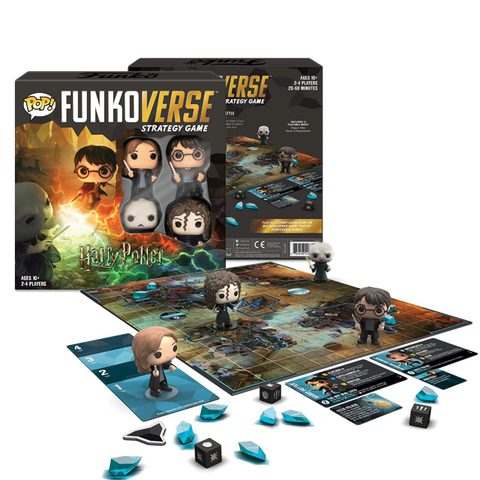 FunkoVerse Strategy Game Harry Potter (4 Players)