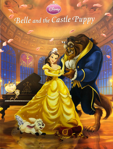 Disney Belle & The Castle Puppy Book