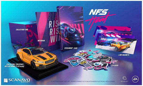 PS4 NFS Heat Collector's Edition New (No Game)