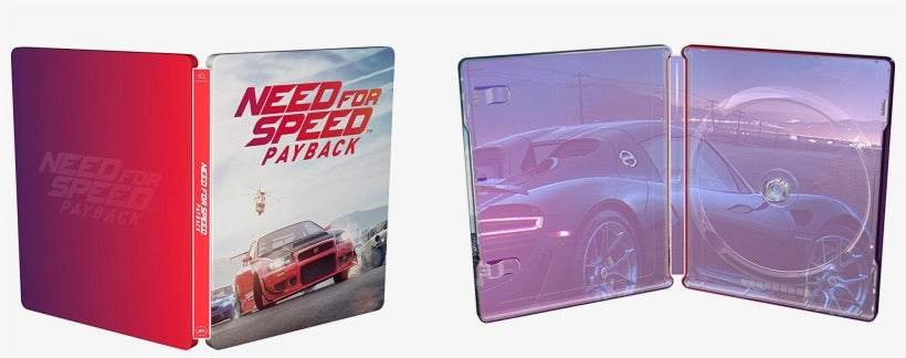 PS4 Need For Speed Payback Steelbook (No Game)