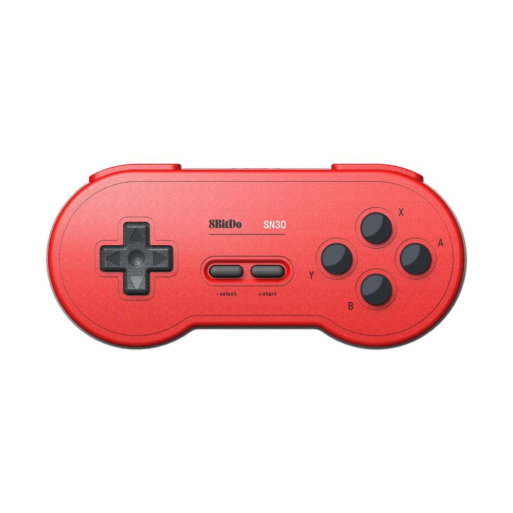 8Bitdo SN30 Bluetooth Wireless Controller GP Red