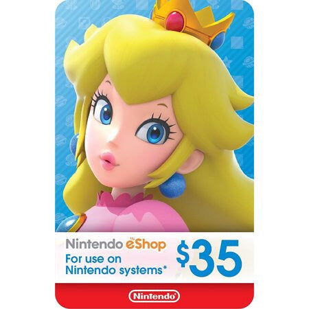 Nintendo eShop $35(US Account)
