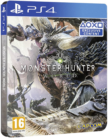 [PS4]  Monster Hunter World Steelbook Edition R2
