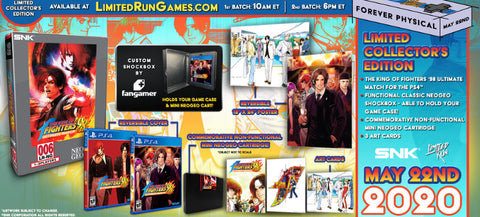 [PS4] The King Of Fighters 98 Ultimate Match Collector's Edition R1