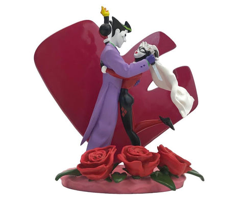 DC The Batman Adventures Joker & Harley Quinn Wedding Cake Topper Limited Edition Statue (15cm)