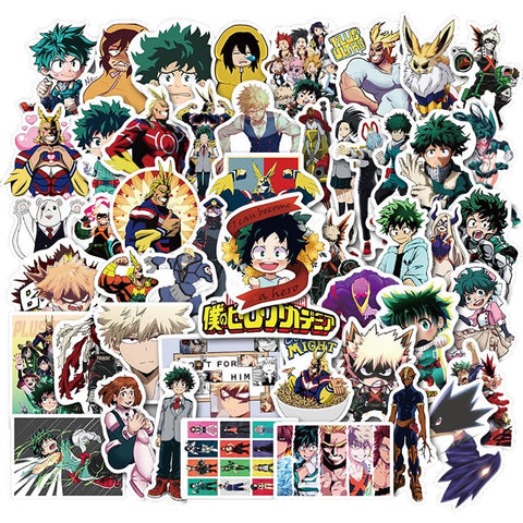 50 Pieces My Hero Academia Stickers