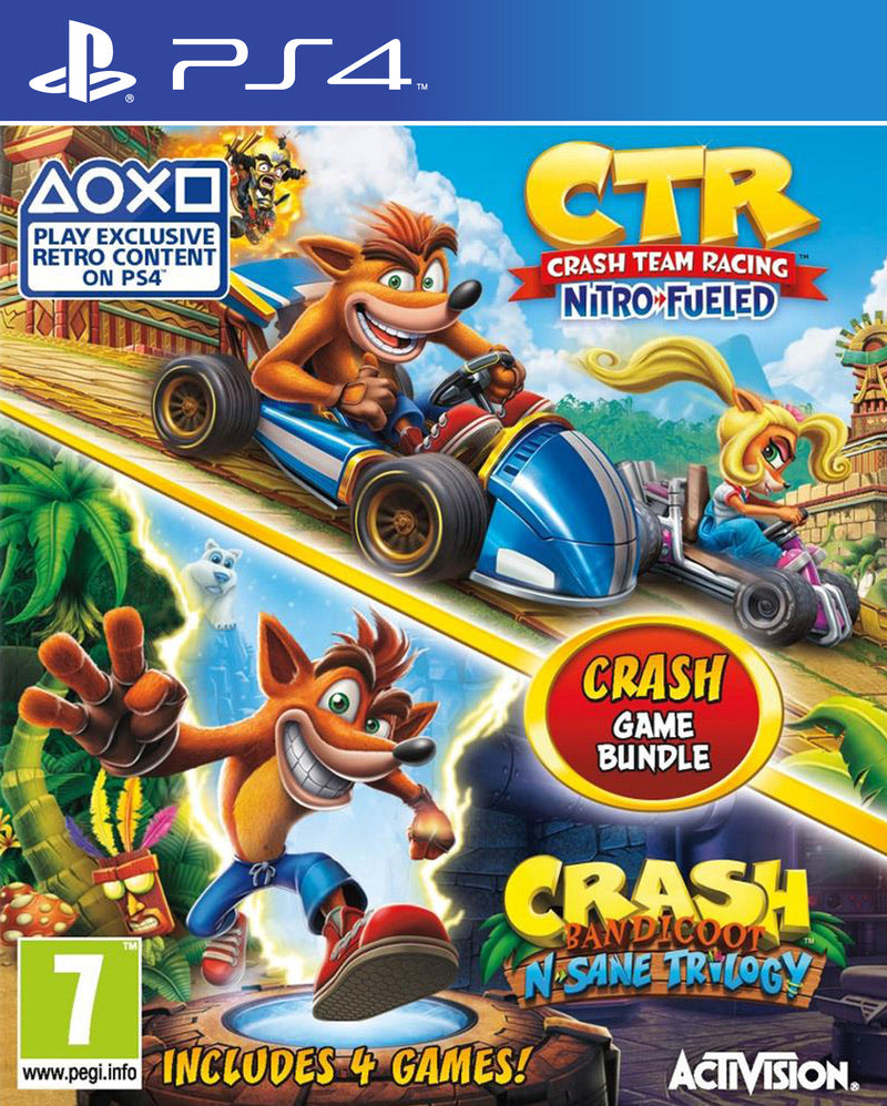 [PS4] Crash Team Racing & Crash Bandicoot R2