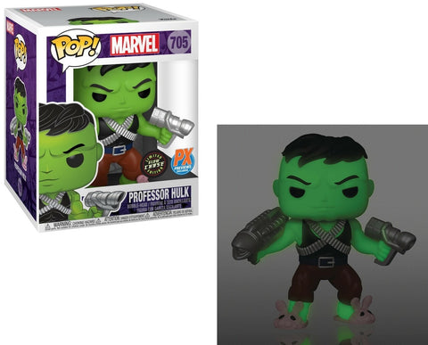 Funko Pop Marvel Professor Hulk (Limited Glow Chase Edition)