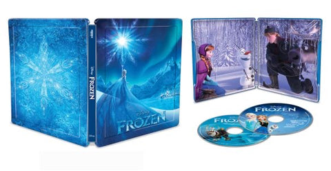 Disney Frozen Steelbook [4K Ultra HD]