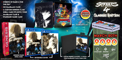 [PS4] Streets of Rage 4 Classic Edition R1