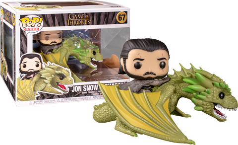 Funko Pop Game Of Thrones Jon Snow & Rhaegal