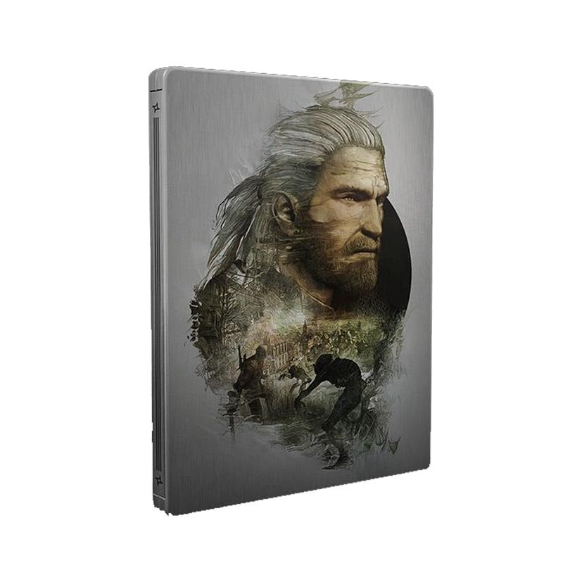 [PS4] The Witcher Wild Hunt Steelbook Custom (No Game)